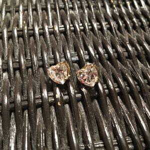Heart shaped studs